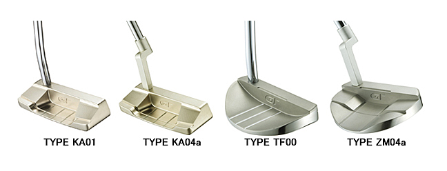 Gt-milled-putters