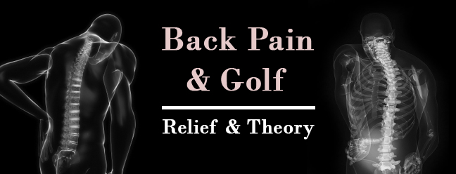 Golf Back Pain & Lower Back Pains from Golf