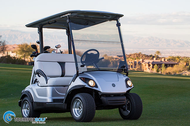 Yamaha 39 s new drive ptv golf cart reviews for Yamaha golf cart gas vs electric