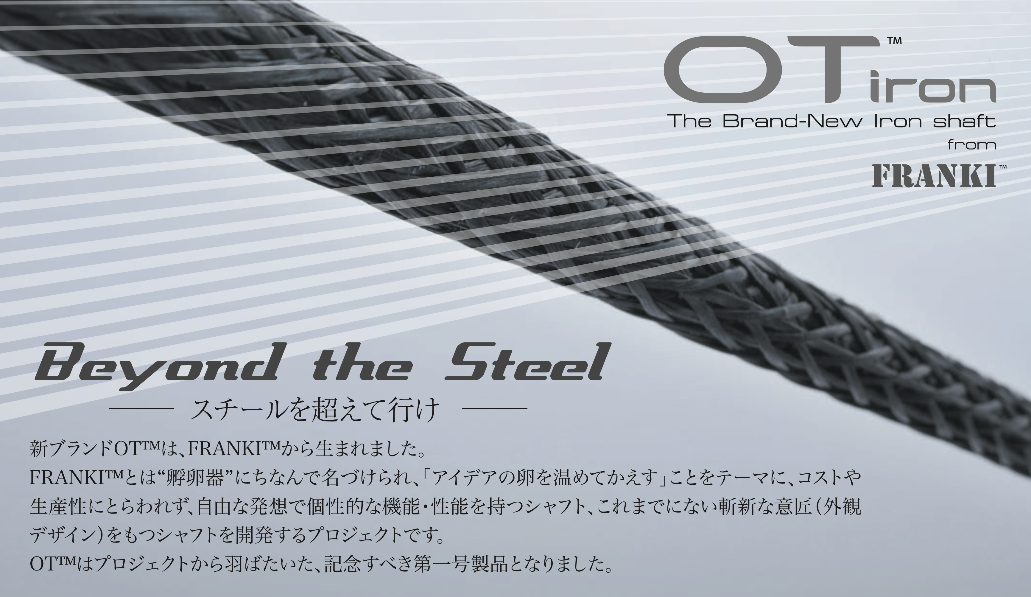 Mitsubishi OT Iron Shaft FRANKI