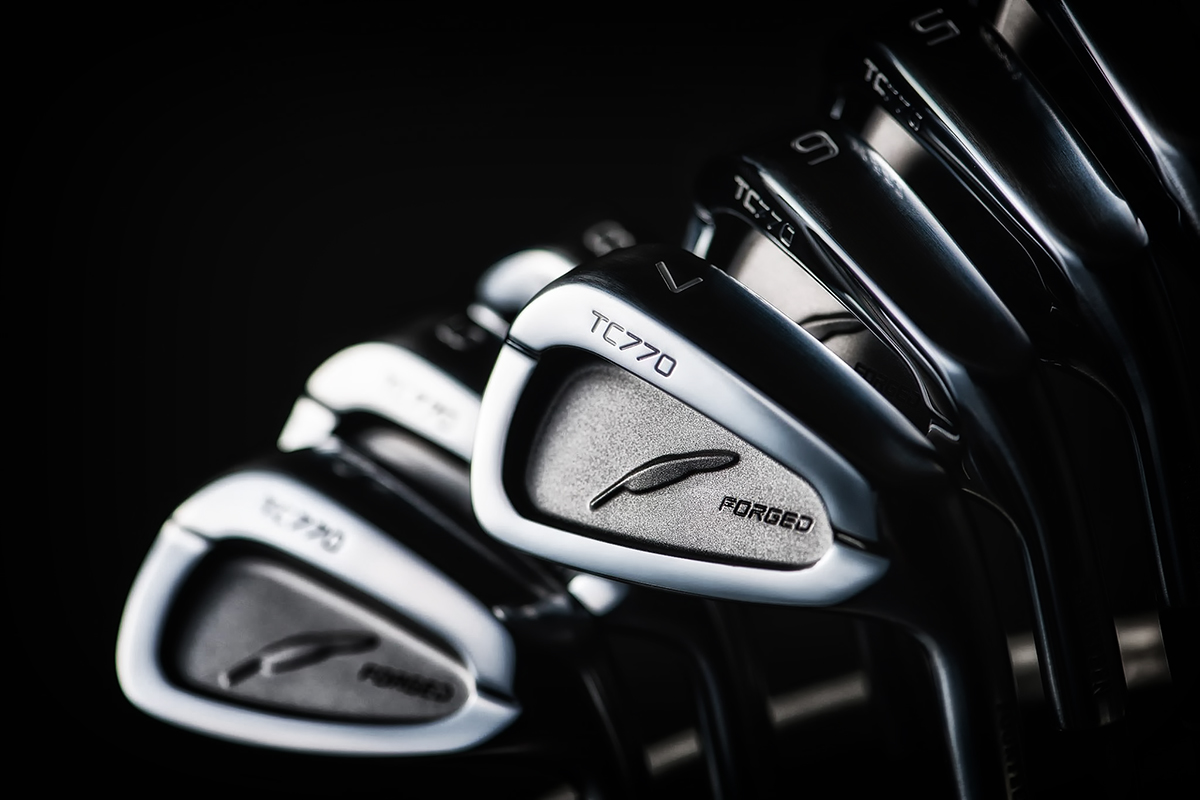 Fourteen TC770 Forged Irons