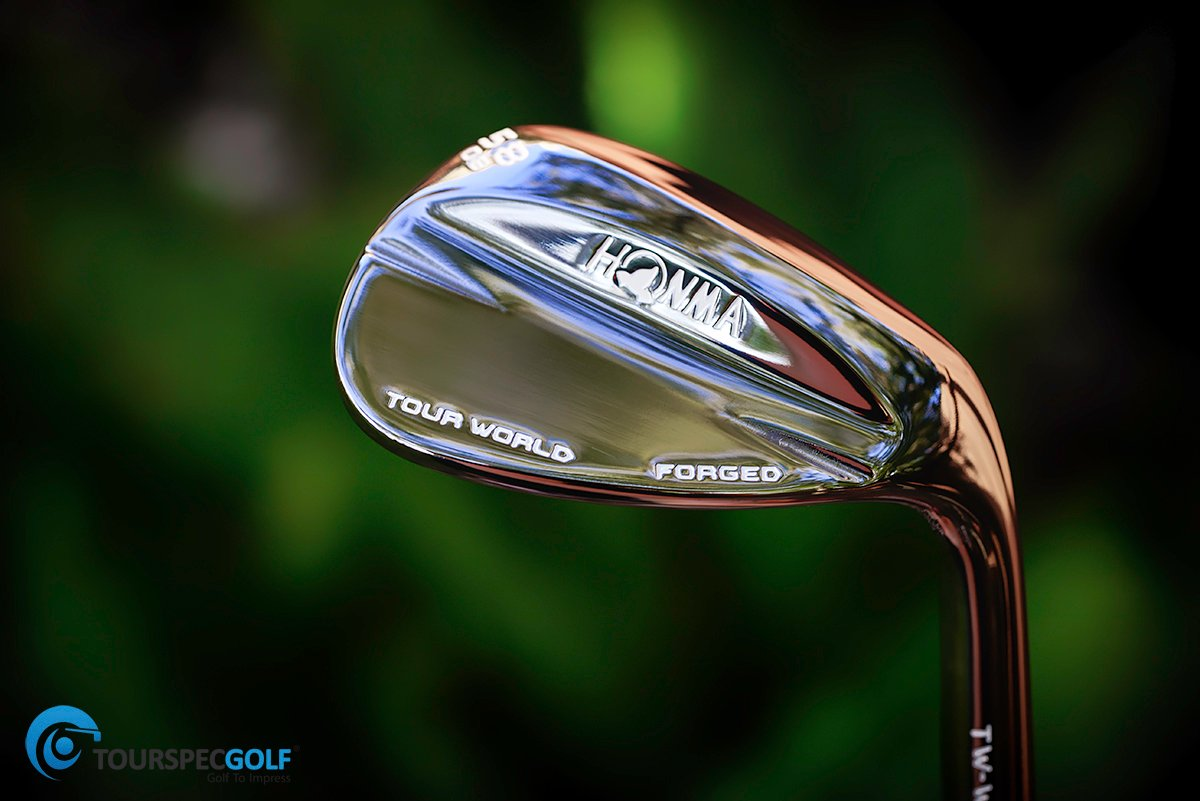 Honma Black Nickel Finish