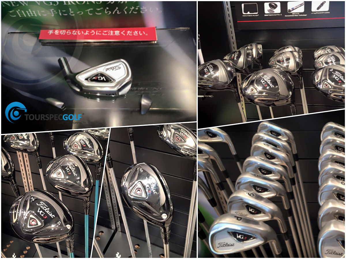 Titleist Japan New VG3 2016 Golf Clubs