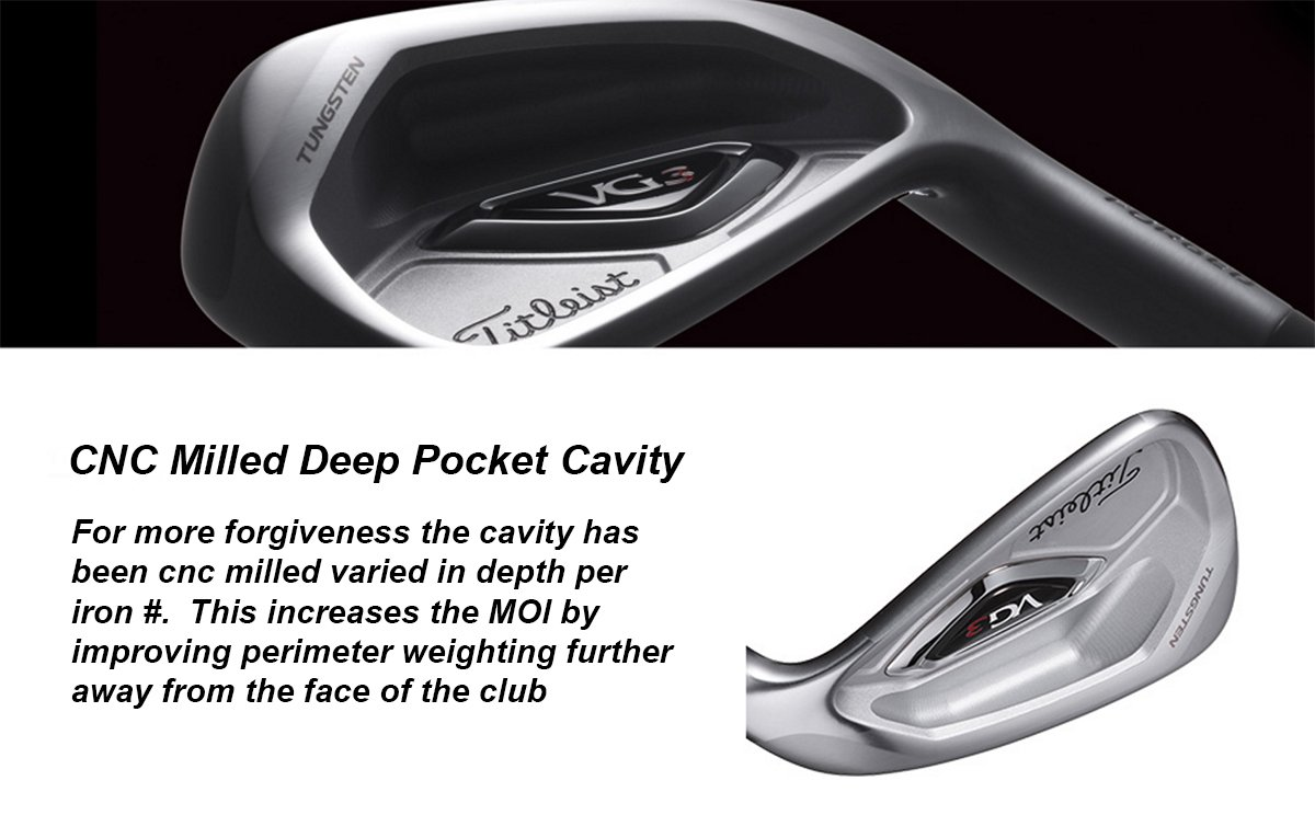 Vg3 CNC Milled Titleist Japan Only
