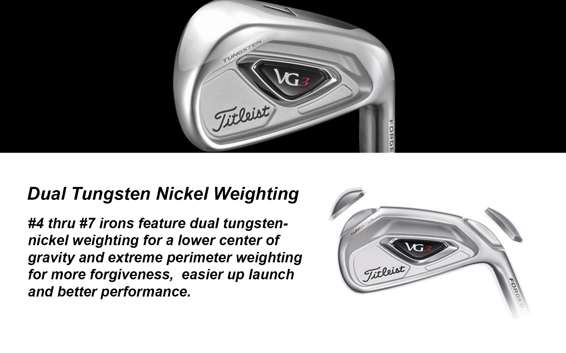 Japan Only Vg3 Irons