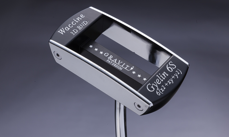 waccine-6s-silver-putter